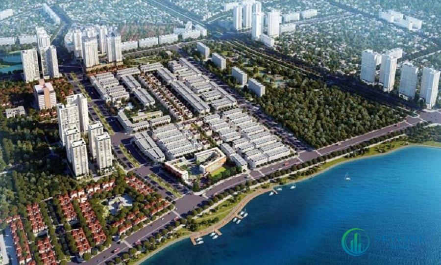 Phối cảnh dự án Hồ Gươm Xanh Bình Dương.