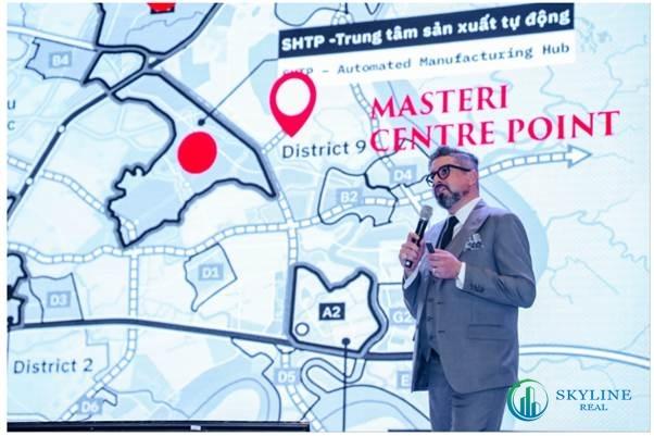 Ông Gibran Bukhari tin tưởng vào sự phát triển mạnh mẽ của bất động sản quận 9.