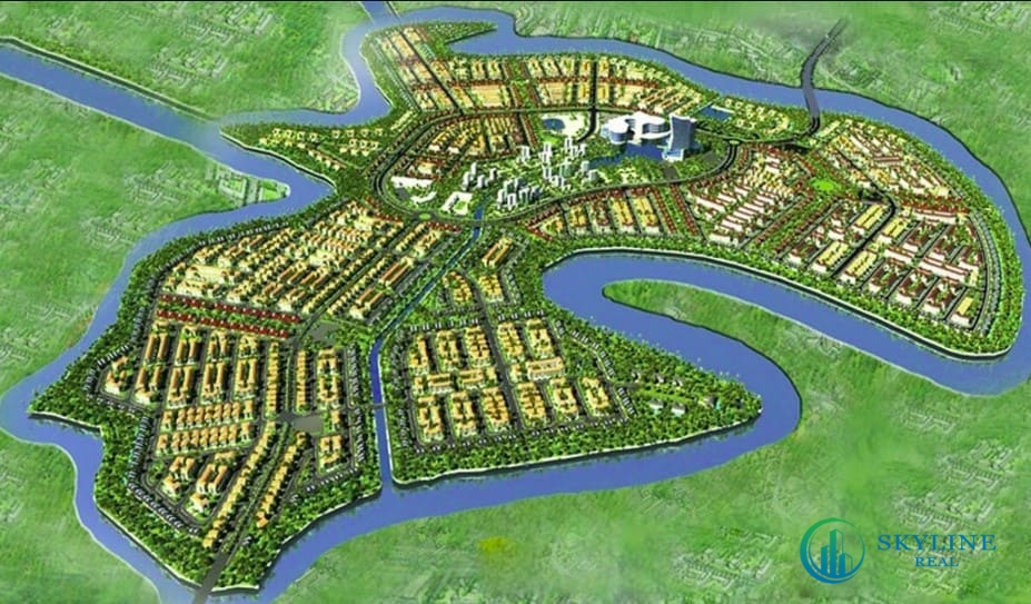Phối cảnh dự án đảo Phụng Hoàng Aqua City