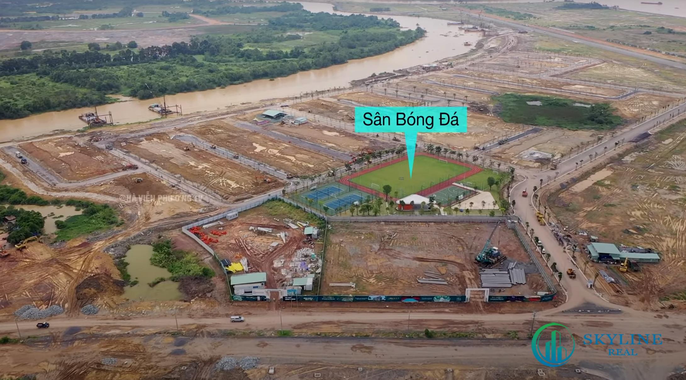 Tiện ích thể thao tại Aqua City đang được hoàn thiện