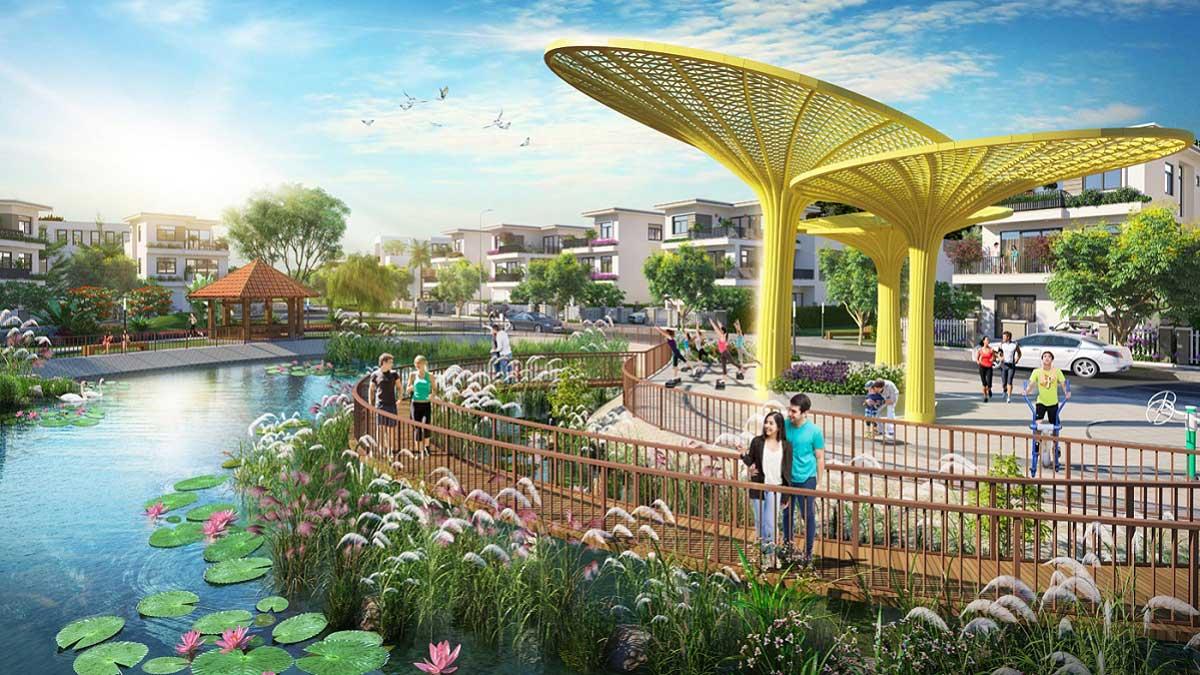 Tiện ích Công viên nội khu Dự án Căn hộ Icon Plaza Bình Dương chủ đầu tư Phú Hồng Thịnh