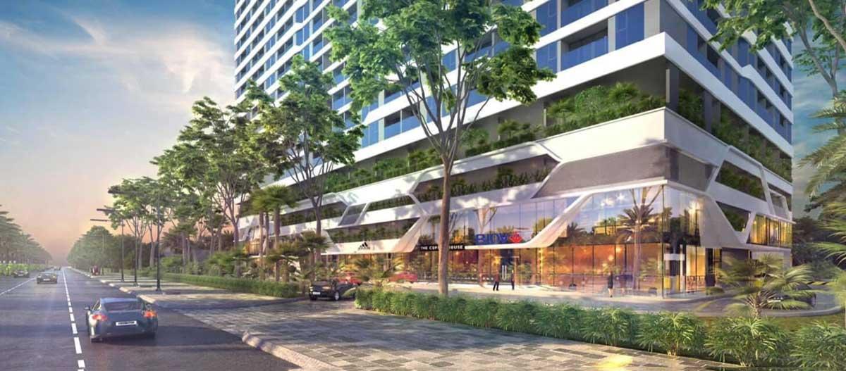 Tiện ích Trung tâm thương mại Icon Plaza Apartment