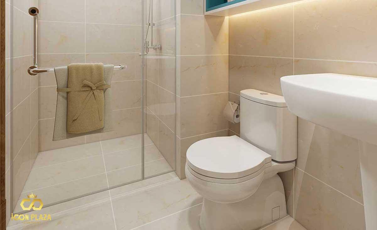 Phòng tắm Icon Plaza Bình Dương chủ đầu tư Phú Hồng Thịnh