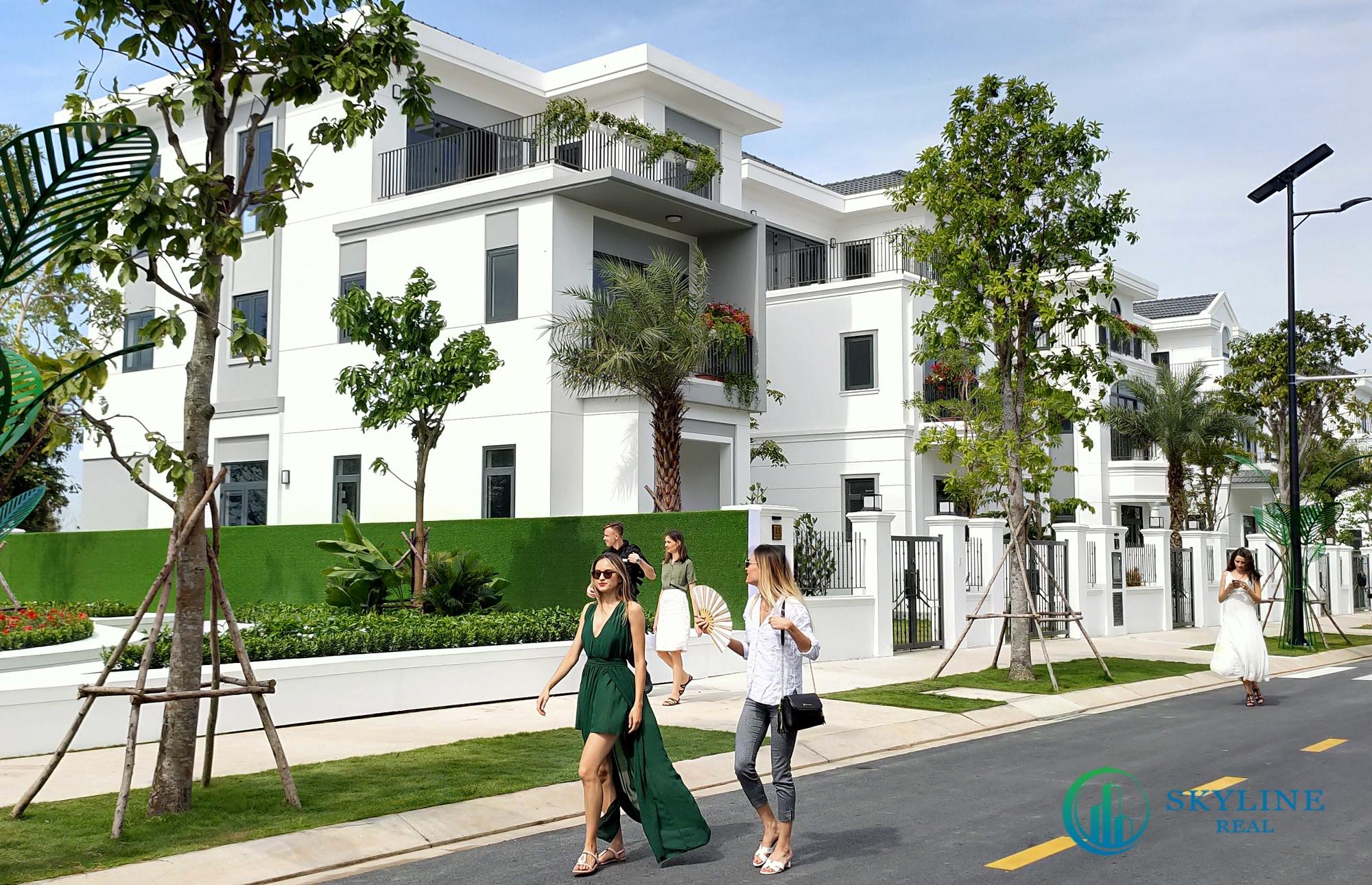 Tổng quan quy hoạch ấy cảm hứng từ những con phố cùng các căn biệt thự ở những điểm thu hút du khách tại trời Âu.