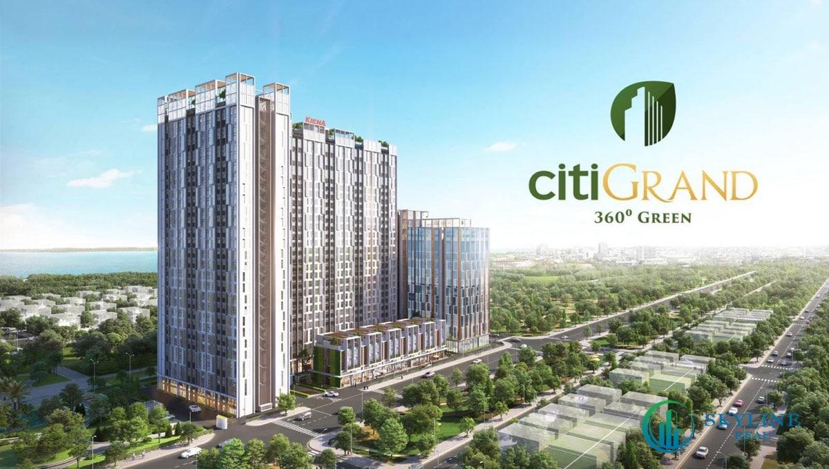 Phối cảnh tổng thể căn hộ Citi Grand Quận 2