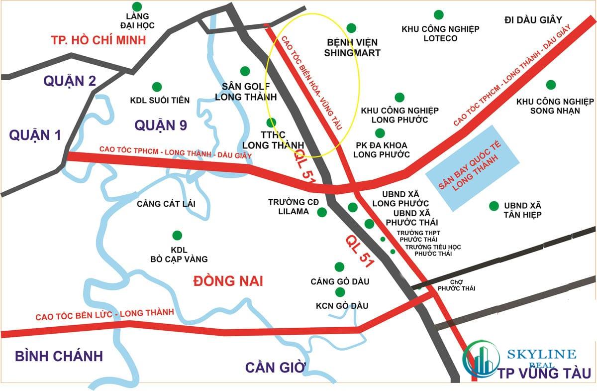 Cao tốc Biên Hoà - Vũng Tàu mang tiềm năng rất lớn cho Habana Hồ Tràm Novaland
