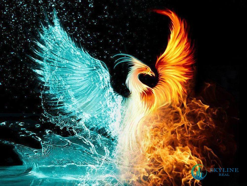 Phoenix South Aqua City mang hình dáng của chim Phượng Hoàng