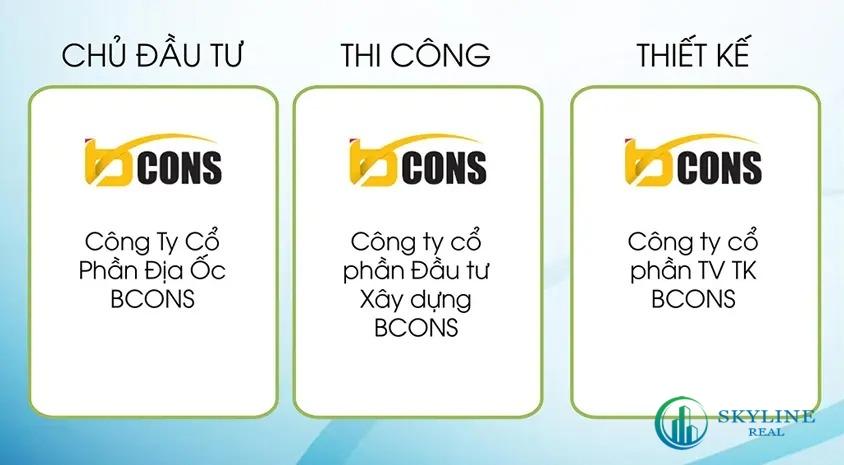 Các lĩnh vực chính của chủ đầu tư Bcons
