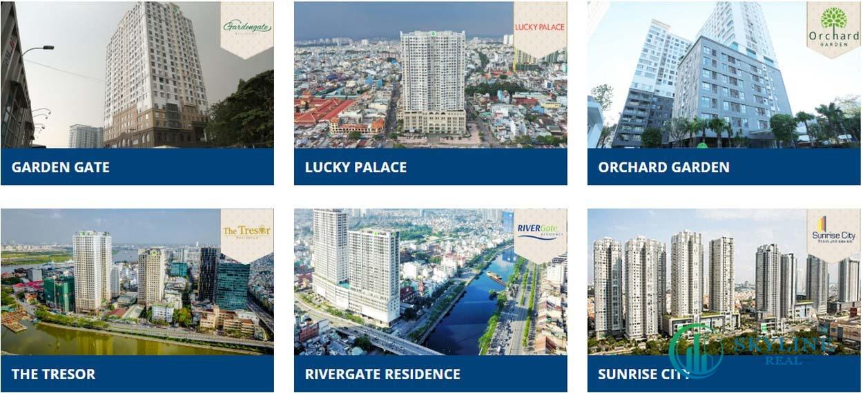 Dự án bất động sản nhà ở của chủ đầu tư Novaland