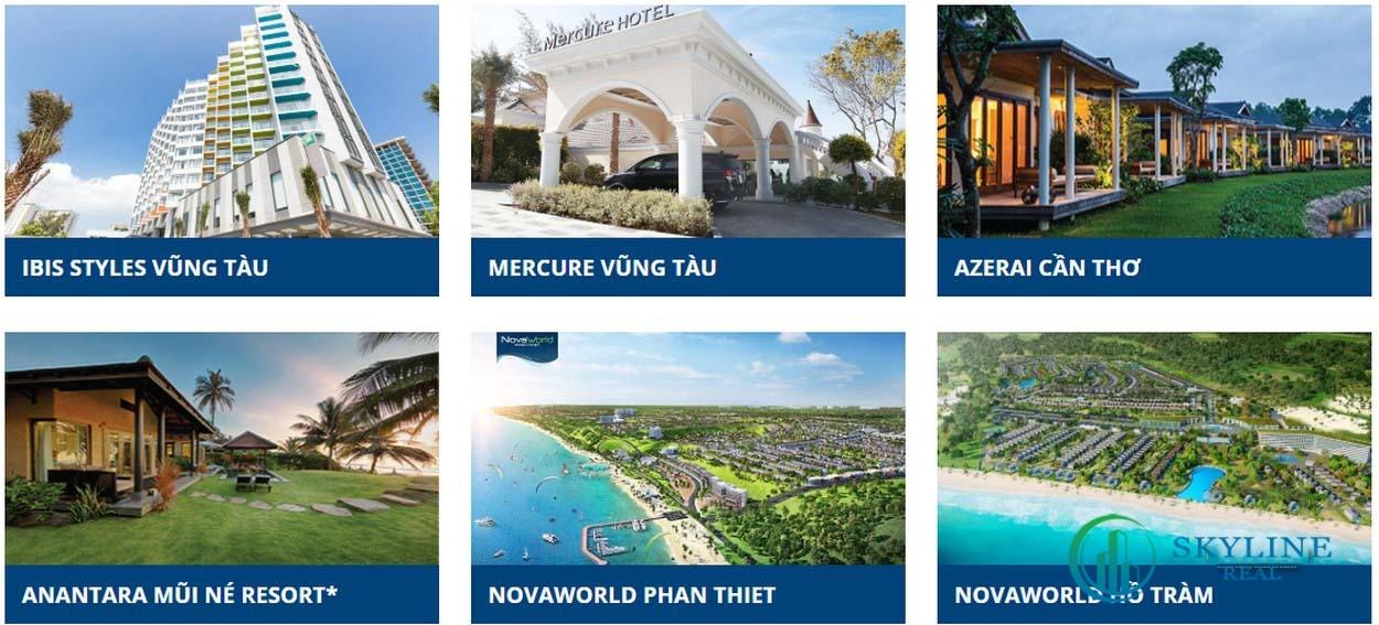 Dự án bất động sản nghỉ dưỡng của chủ đầu tư Novaland