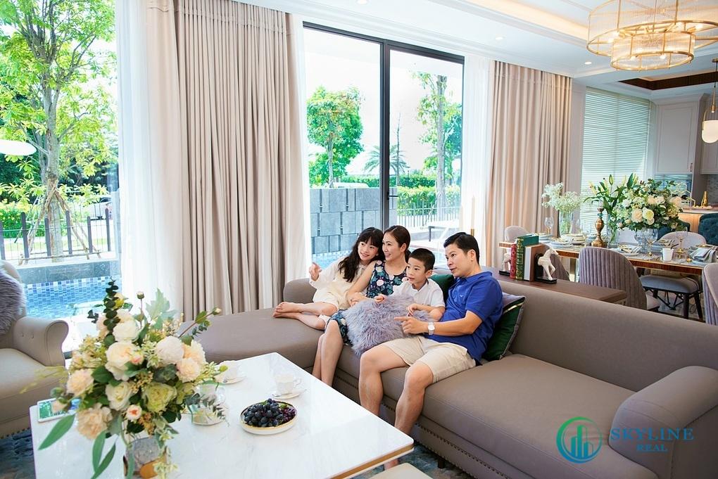 Không gian gia đình luôn được chủ đầu tư chú trọng