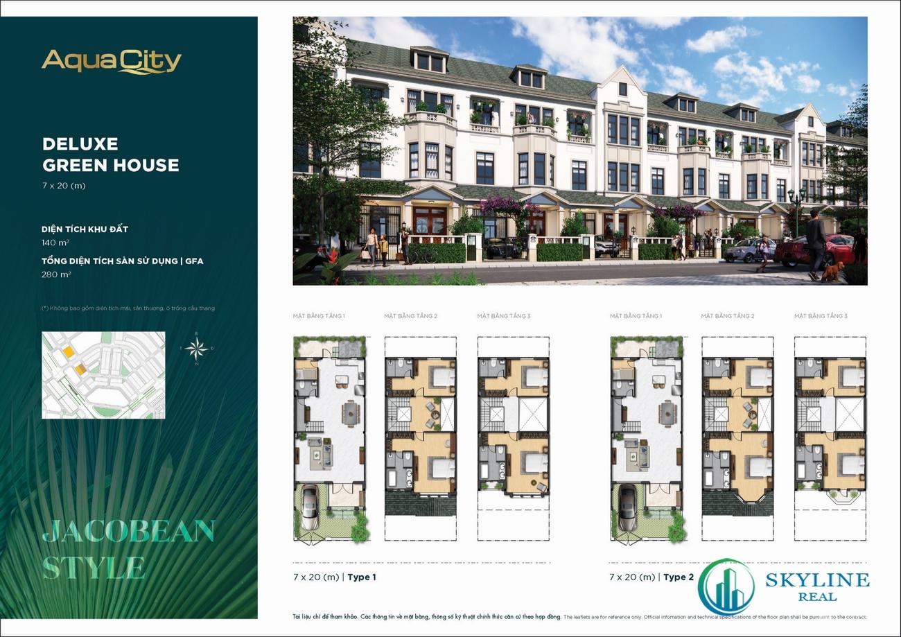 Thiết kế chi tiết phân khu The Stella Aqua City Đồng Nai