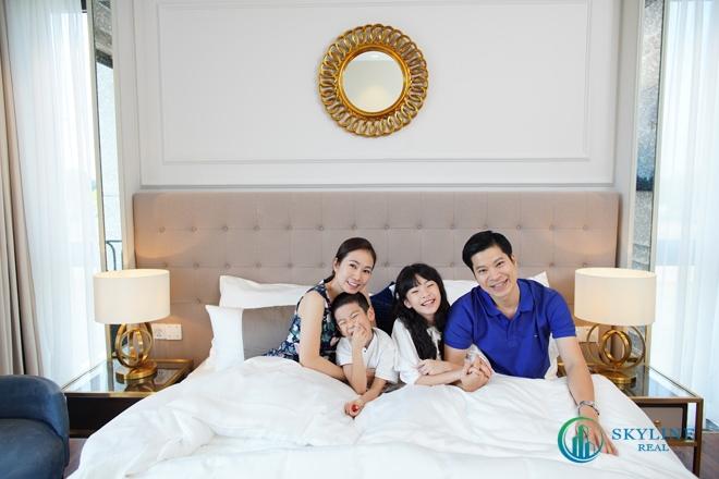 Gia đình Mc Thanh Thảo Hugo trải nghiệm không gian sống đẳng cấp tại đảo Phượng Hoàng Aqua City Phoenix South