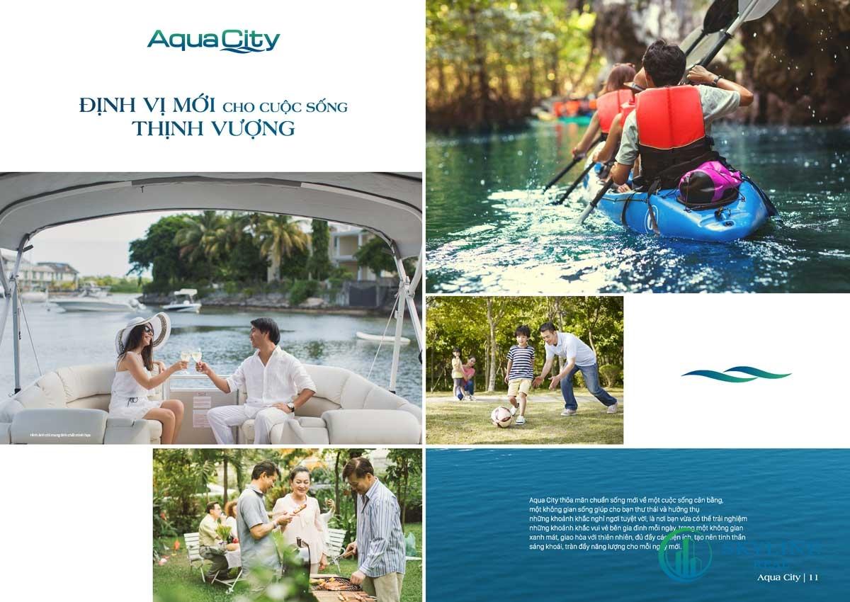 Tiện ích nội khu Aqua City The Suite
