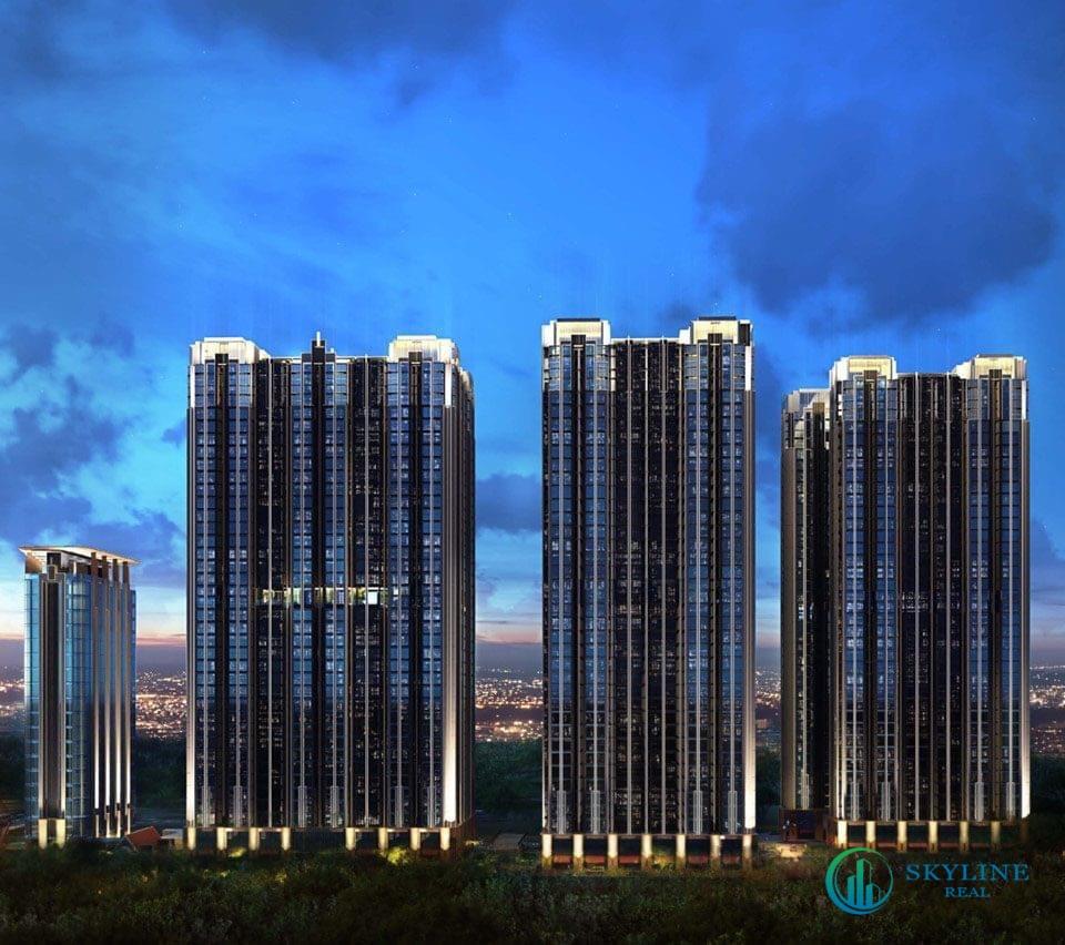 Phối cảnh tổng thể dự án căn hộ Citi Avenue Quận 2 chủ đầu tư Kiến Á