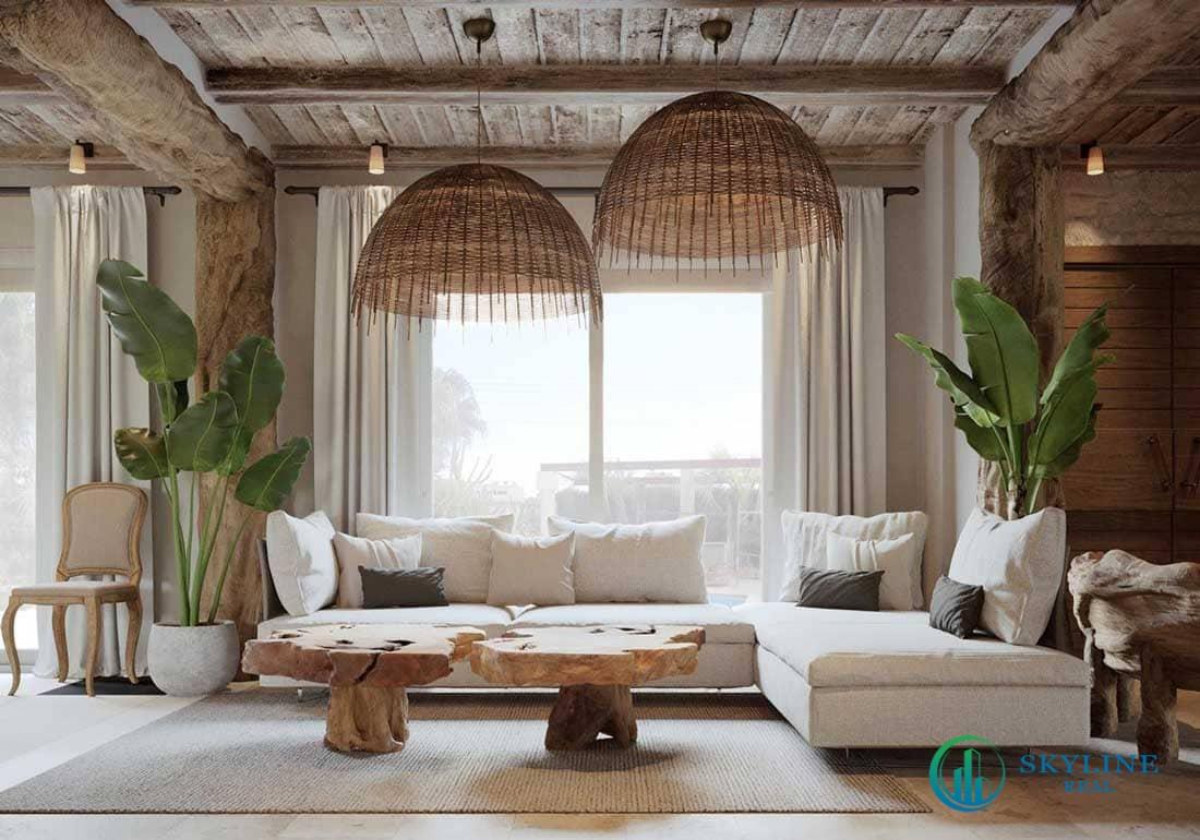 Cửa vòm hay mái vòm chính là đặc trưng của phong cách Địa Trung Hải