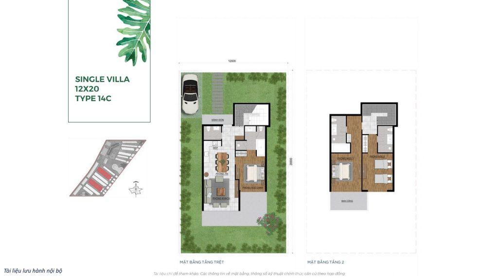 Single Villa 12X20M