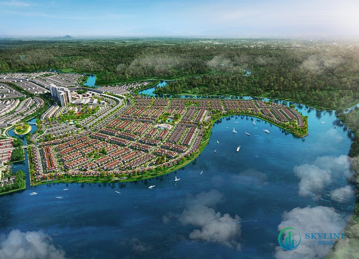 Đô thị đảo Phượng Hoàng thuộc khu đô thị sinh thái thông minh Aqua City thu hút sự quan tâm của đông đảo khách hàng khi vừa được giới thiệu ra thị trường.