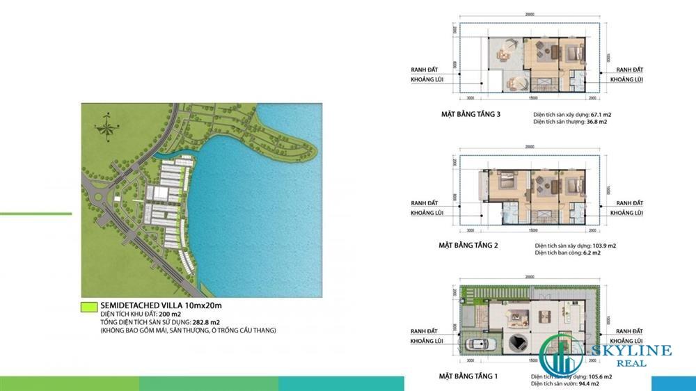 Thiết kế phân khu The Elite Aqua City Đồng Nai