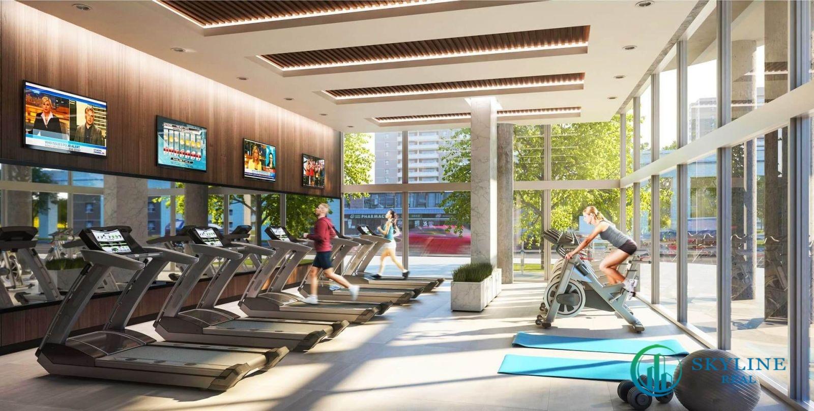 Phòng tập Gym tại dự án căn hộ Citi Avenue Quận 2 chủ đầu tư Kiến Á