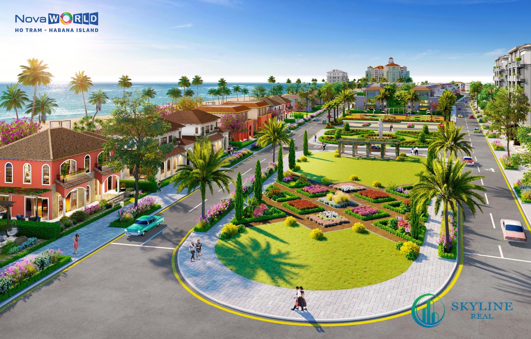 Tiện ích nội khu Habana Hồ Tràm Novaland