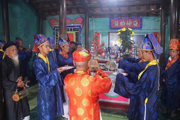 Lễ hội cầu ngư là một trong những lễ hội truyền thống của ngư dân làng Nam Ô.