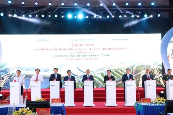 Sân bay Long thành được khởi công vào ngày 5-1 cùng với việc thành lập thành phố Thủ Đức đã mang lại nhiều lợi thế để các dự án BĐS sinh thái phía Đông như Aqua City gia tăng giá trị