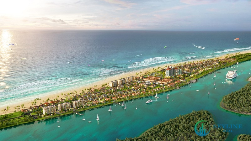 Phối cảnh tổng thể dự án Habana Island chủ đầu tư Novaland Hồ Tràm