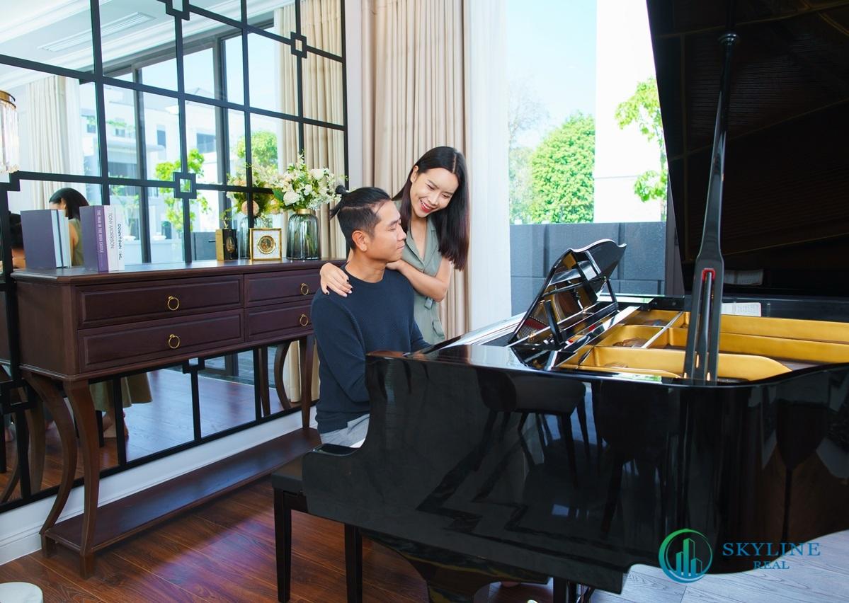 Không gian sống tại Aqua City mang đến nguồn cảm hứng sáng tạo cho vợ chồng Lưu Hương Giang - Hồ Hoài Anh