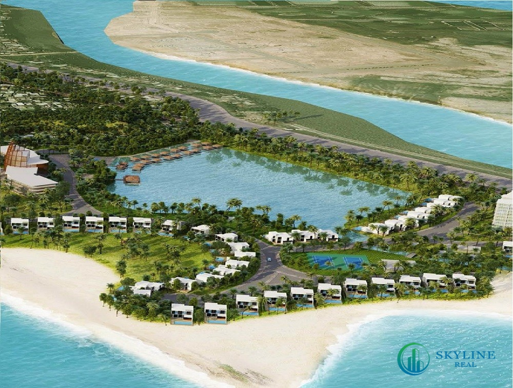 Phối cảnh tổng thể dự án Lancaster Nam Ô Resort Đà Nẵng