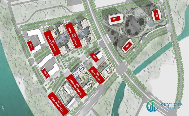 Chi tiết các phân khu của dự án Empire City