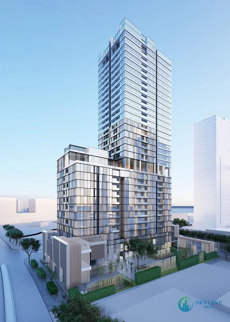Phối cảnh thiết kế tòa tháp phân khu The Monarch (MU6) chủ đầu tư Keppel Land