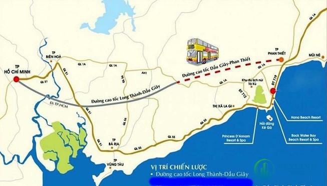Cao tốc Phan Thiết – Dầu Giây là dự án thành phần của dự án đường cao tốc Bắc – Nam cửa ngõ phía Đông, cùng là một trong 2 dự án trọng điểm quốc gia trên địa bàn tỉnh Đồng Nai (cùng với dự án Cảng hàng không quốc tế Long Thành).