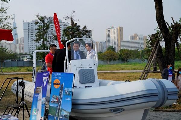 Triển lãm du thuyền, ca nô… tại Bến du thuyền Bình Khánh Quận 2
