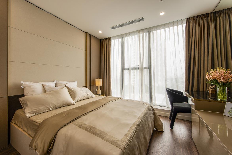 Phòng ngủ dự án căn hộ 2 phòng ngủ chung cư Sunshine City Quận 7