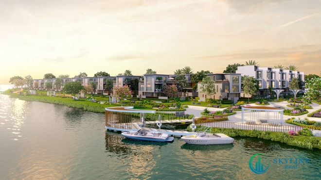 Không gian sống xanh đẳng cấp tại đảo Phượng Hoàng Aqua City