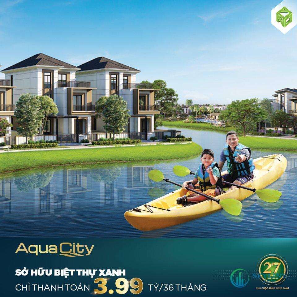 Chương trình ưu đãi dự án Aqua City Đồng Nai tháng 2/2021