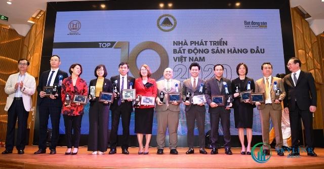 Vinh danh Top 10 nhà phát triển bất động sản hàng đầu Việt Nam (Ảnh: PV)