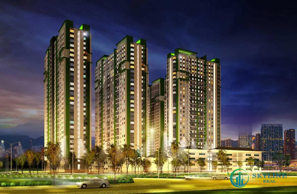 Phối cảnh tổng thể căn hộ chung cư The Gió Bình Dương chủ đầu tư An Gia