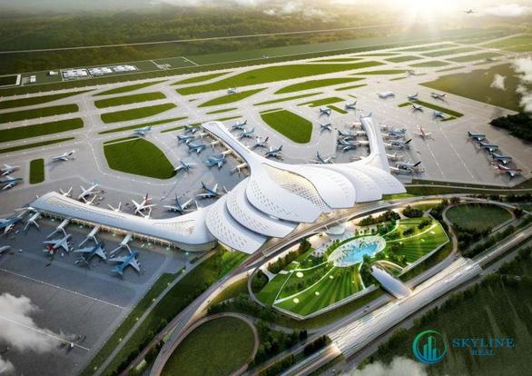 Sân bay quốc tế Long Thành cách dự án 10 phút di chuyển