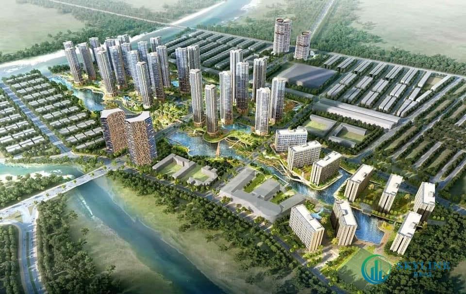 Phối cảnh tổng thể dự án khu đô thị Sài Gòn Bình An TP.Thủ Đức