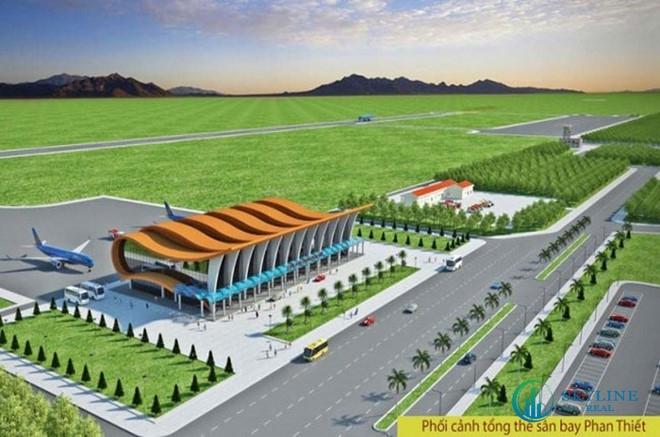 Phối cảnh tổng thể dự án sân bay Phan Thiết