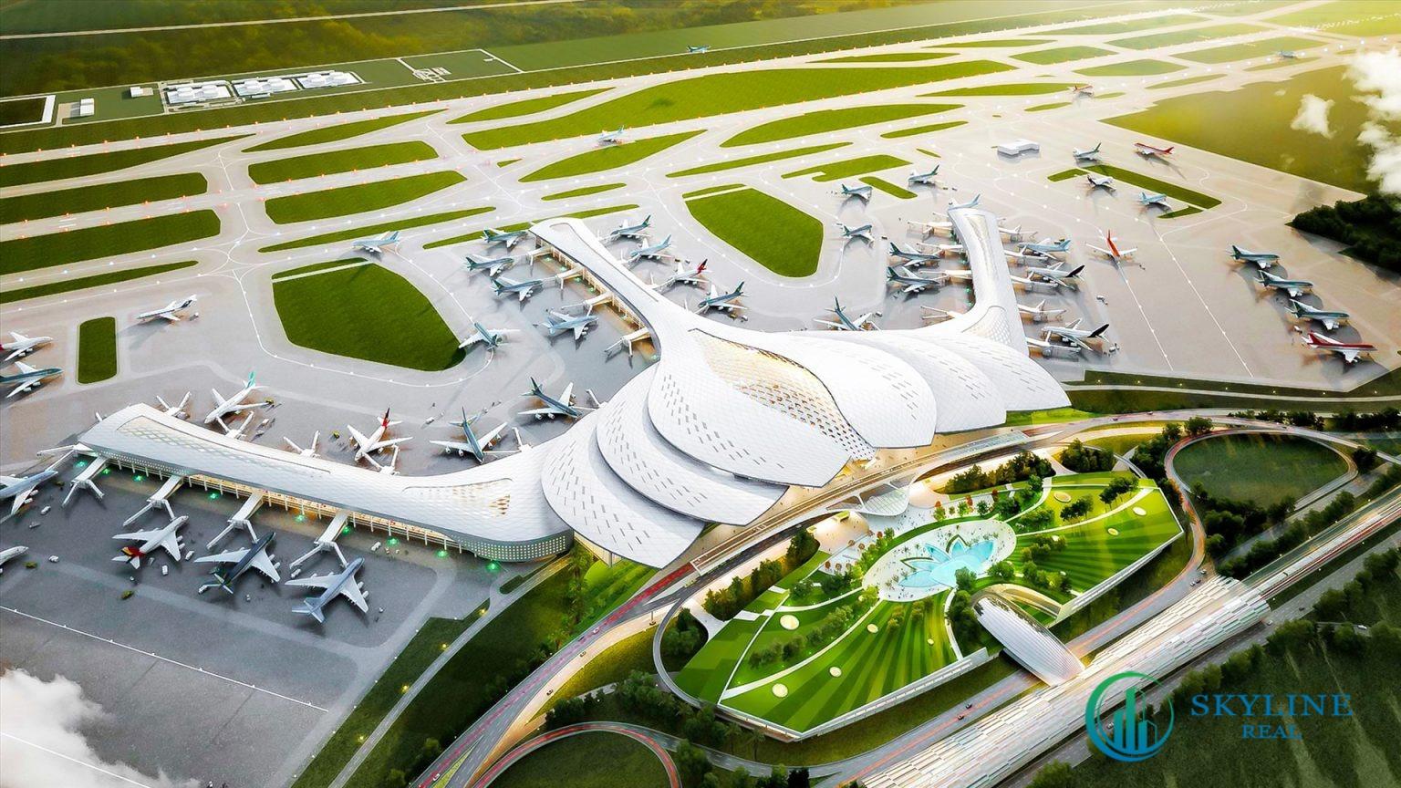 Sân bay Long Thành là một trong những hạ tầng giao thông quan trọng giúp L34 SwanBay tăng giá trong tương lai