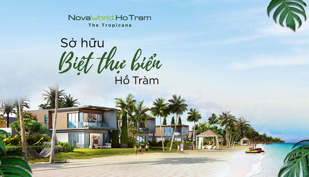Biệt thự biển Hồ Tràm không ngừng gia tăng giá trị