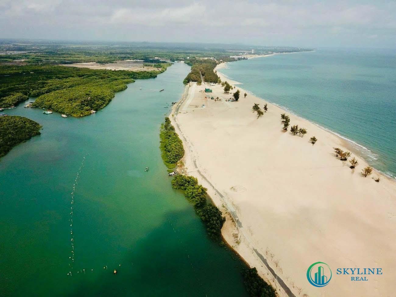 Habana Island có toạ độ đắt giá vừa giáp sông vừa giáp biển, nên rất thu hút thị trường ở phân khúc bất động sản nghỉ dưỡng hạng sang