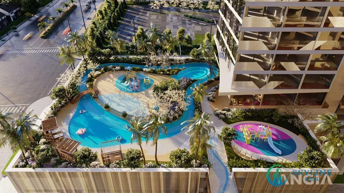 Tiện ích nội khu dự án căn hộ Asiana Đà Nẵng chủ đầu tư Gotec Land