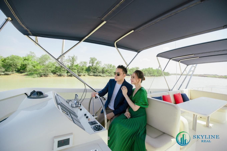Vợ chồng Victor Vũ rất hài lòng về không gian sống tại Đảo Phượng Hoàng Aqua City