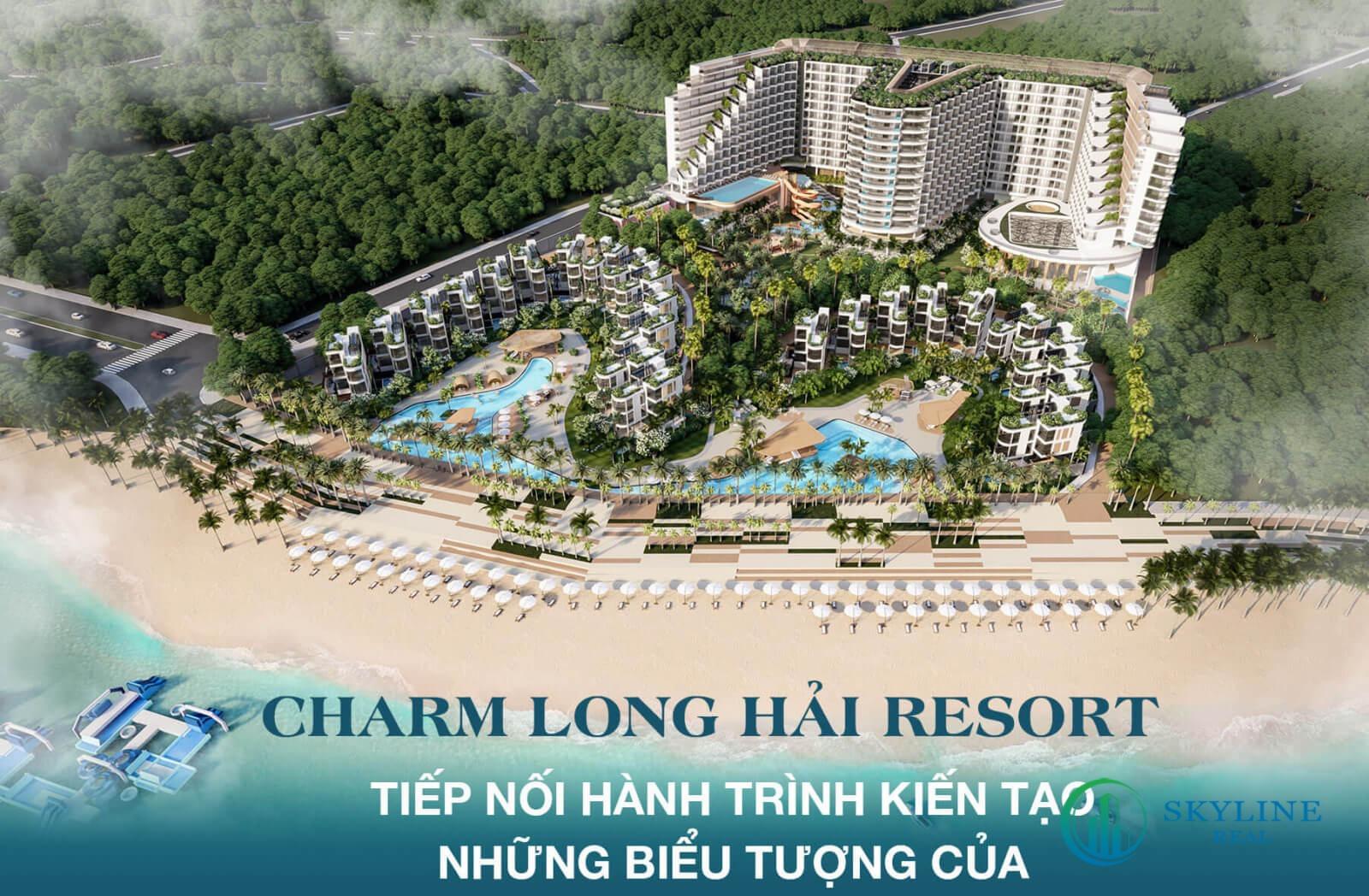 Charm Long Hải - Một trong những dự án bất động sản nghỉ dưỡng nổi bật của Charm Group