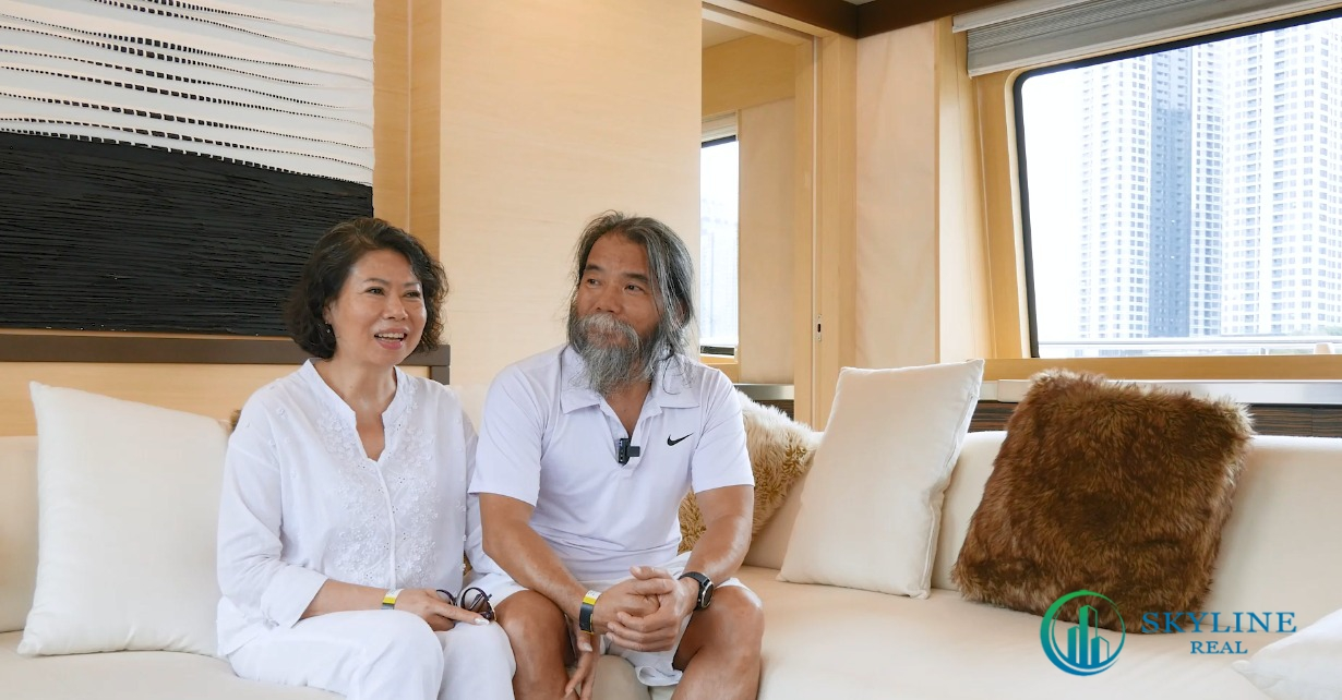 Ông Phạm Hồng Sơn đầu tư một căn biệt thự sau khi tham quan đô thị Đảo Phượng Hoàng tại Aqua City.