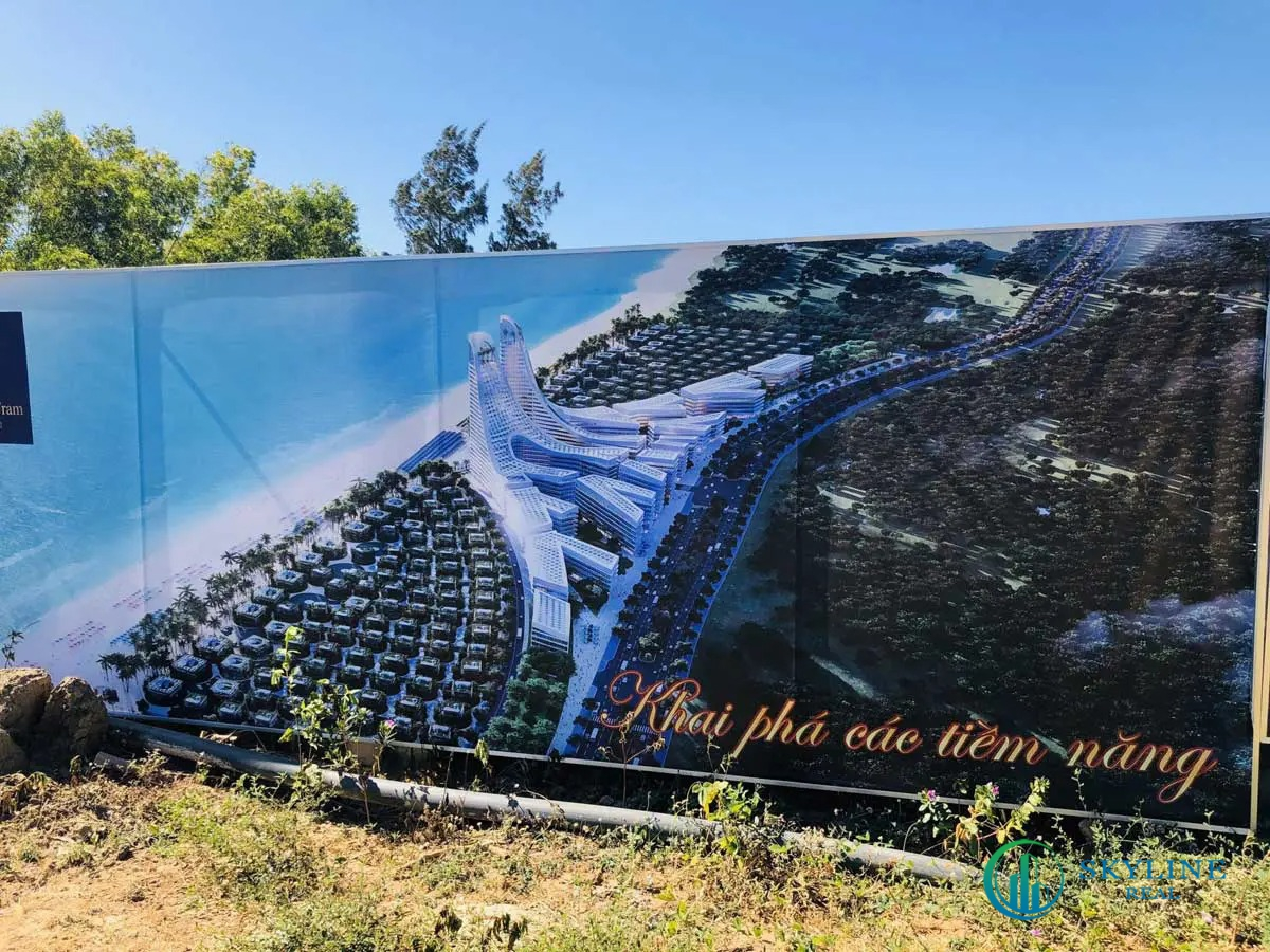 Hình ảnh thực tế dự án Charm Hồ Tràm chủ đầu tư Charm Group